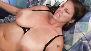 seksowna brunetka tryskać
