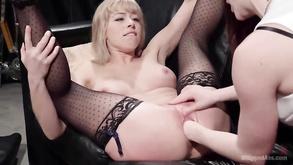 seksowne czarne włosy cipki