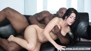 czarny ffm porno