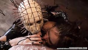 Veronica Avluv seks lesbijski Cipki streched przez wielki kutas